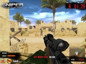 Capture d'écran du jeu Sniper : Wolrd At War