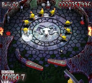 Capture d'écran du jeu Zombie Pinball