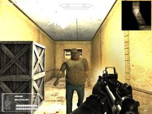 Capture d'écran du jeu Rush Zombie