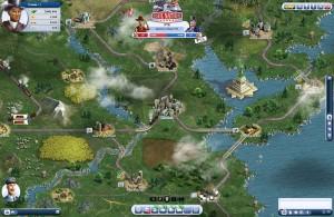 Capture d'écran du jeu Rail Nation