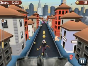 Capture d'écran du jeu Angry Gran Run
