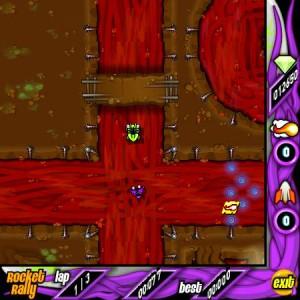 Capture d'écran du jeu Rocket Rally