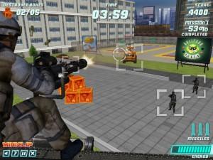 Capture d'écran du jeu War Copter