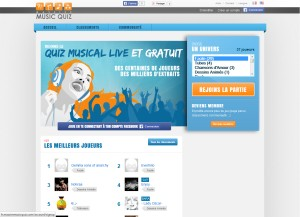 Capture d'écran du jeu Massive Music Quiz