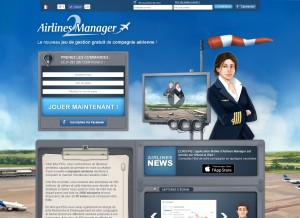 Capture d'écran du jeu Airlines Manager