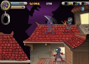 Capture d'écran du jeu 3 Foot Ninja Ii