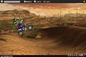 Capture d'écran du jeu Motocross Nitro