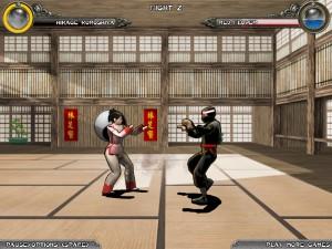 Capture d'écran du jeu Dragon Fist 3d