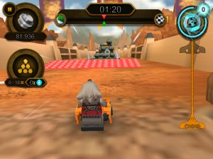 Capture d'écran du jeu Speedorz