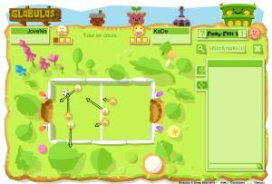 Capture d'écran du jeu Globulos