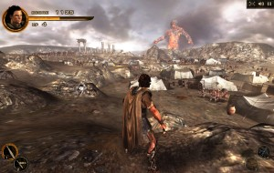 Capture d'écran du jeu Titans Attack