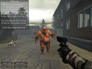 Capture d'écran du jeu Zombie Warz