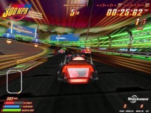 Capture d'écran du jeu 300 Mph