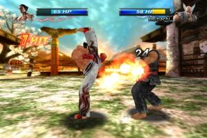 Capture d'écran du jeu Tekken Card Tournament