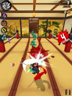 Capture d'écran du jeu Ninja Slash