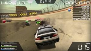 Capture d'écran du jeu Burnin Rubber 5