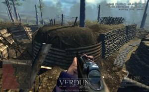 Capture d'écran du jeu Verdun Lite