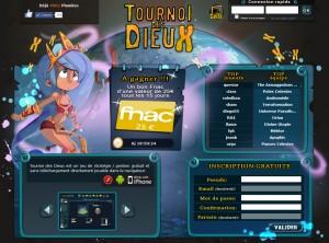 Capture d'écran du jeu Tournoi Des Dieux