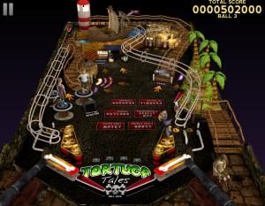 Capture d'écran du jeu Tortuga Tales Pinball 3d