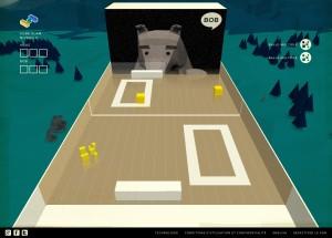 Capture d'écran du jeu Cube Slam