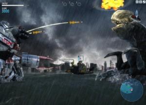 Capture d'écran du jeu Jaeger Combat Simulator