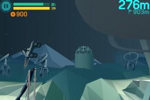 Capture d'écran du jeu Lunar Racer