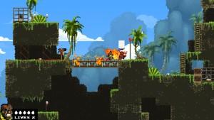 Capture d'écran du jeu Broforce