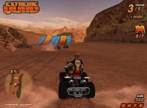 Capture d'écran du jeu Extreme Quad