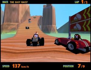 Capture d'écran du jeu Rich Racer