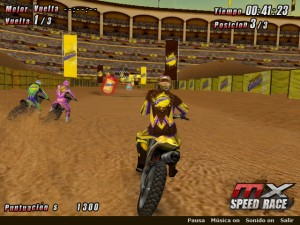 Capture d'écran du jeu Mx Speed Race