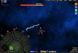 Capture d'écran du jeu Astroflux