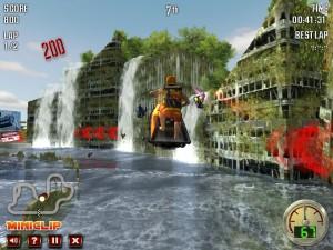 Capture d'écran du jeu Jet Ski Racer