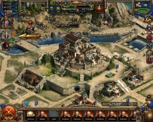 Capture d'écran du jeu Sparta : War Of Empires
