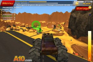 Capture d'écran du jeu Crash Drive 2