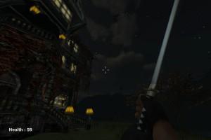 Capture d'écran du jeu Undead Isle