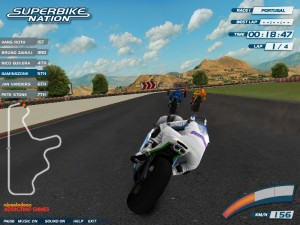 Capture d'écran du jeu Superbike Nation