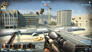 Capture d'écran du jeu Sniper Team 2