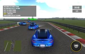 Capture d'écran du jeu Supercars Multiplayer