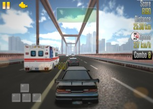 Capture d'écran du jeu Highway Racer