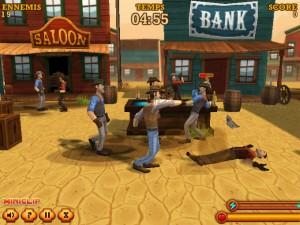 Capture d'écran du jeu Saloon Brawl 2