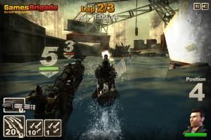 Capture d'écran du jeu Hydro Storm 2