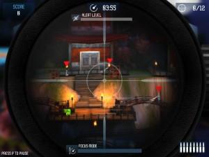 Capture d'écran du jeu Stealth Sniper