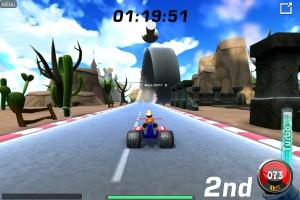 Capture d'écran du jeu Motor Toons