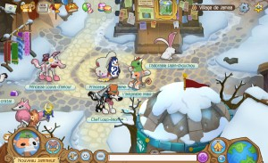 Capture d'écran du jeu Animal Jam