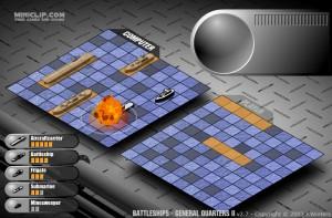 Capture d'écran du jeu Battleships - General Quarters