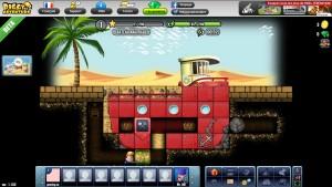 Capture d'écran du jeu Diggy's Adventure