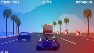 Capture d'écran du jeu Thug Racer