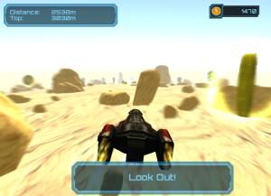 Capture d'écran du jeu Klaxxon