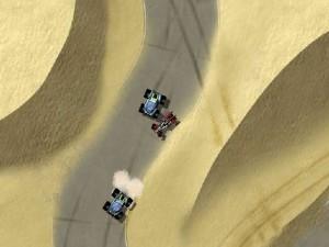 Capture d'écran du jeu Drome Duel : Desert Zone