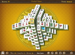 Capture d'écran du jeu Mahjong Towers